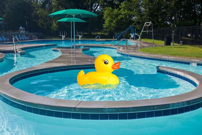 Lazy River Duck Derby July 12 at Valleybrook Country Club